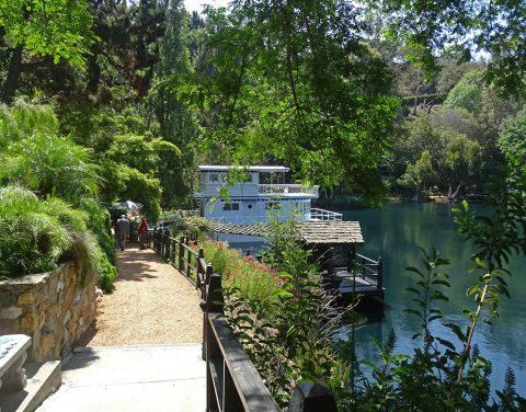 Lake Shrine Gardens and House Boat