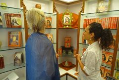 Autobiography of a Yogi on Display in the Bookroom