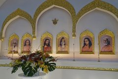 Temple Altar in the main Sanctuary
