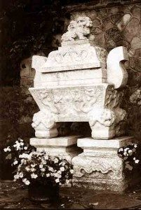 Gandhi Sarcophagus