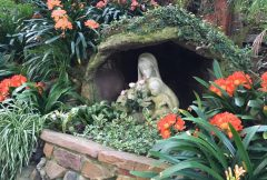Mary and the Infant Jesus in the Sunken Gardens