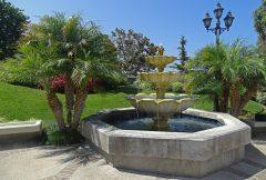 Patio Fountain in the Main Courtyard